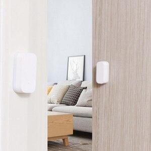 Image 2 - Aqara porta janela sensor zigbee conexão sem fio inteligente mini sensor de porta trabalho com mi app para android ios telefone