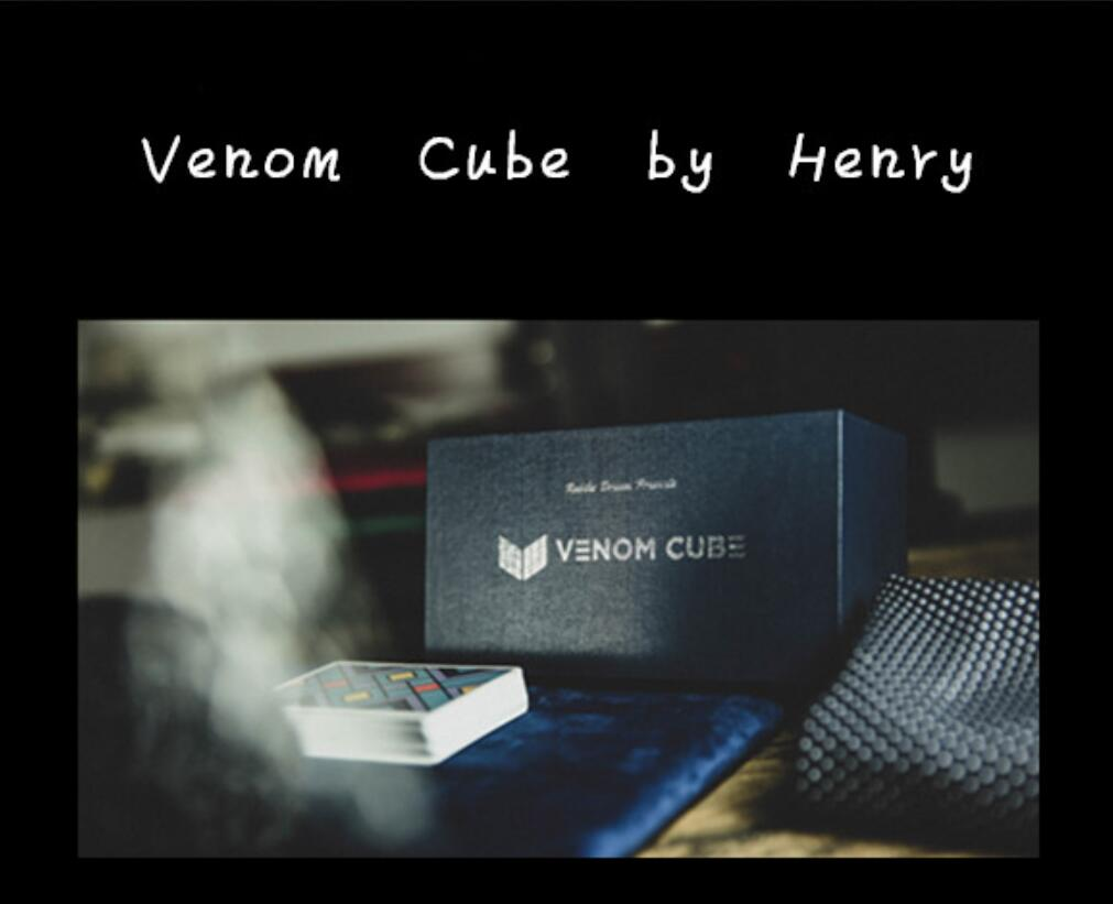 Venom Cube By Henry Harrius - Online Instruction Not Gimmicks-magic Tricks