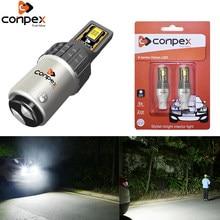 Conpex 2x Signal Lamp Bay15d Led 1157 P21/5W 3570SMD Super Bright BA15S P21W BAU15S PY21W 1156 LED For Car Brake Backup Lights