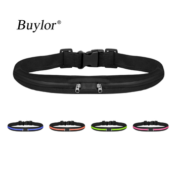 Buylor Running Belt Bag Women Men Sports Waist Bag Waterproof  Portable Waist Pack Pocketbelt Phone Pouch For Cycling Gym