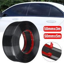 Garniture de carrosserie de voiture noire, calandre de toit, vitre latérale, bande de garniture de miroir, moulage ligne de style, pour Toyota/Honda/Nissan