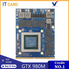 Original GTX980M GTX 980M 8GB GDDR5 MXM N16E-GX-A1 Video Graphics Card For Dell Alienware /HP /MSI/ Clevo Laptop(China)
