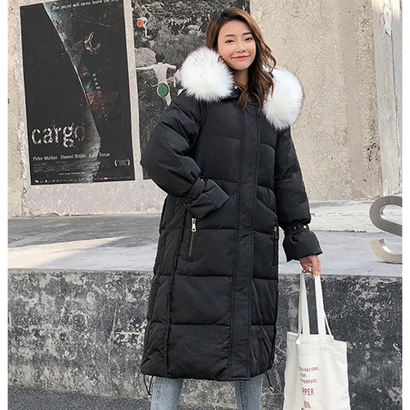 New arrival 2019 women winter long parka cotton padded warm coats fash_B0_11