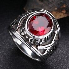 Ювелирные изделия серебряного цвета винтажные кольца для мужчин