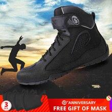 ARCX bottes de Moto pour hommes, chaussures de randonnée pour Moto, respirantes, pour motard, Chopper, Cruiser, chaussures de randonnée