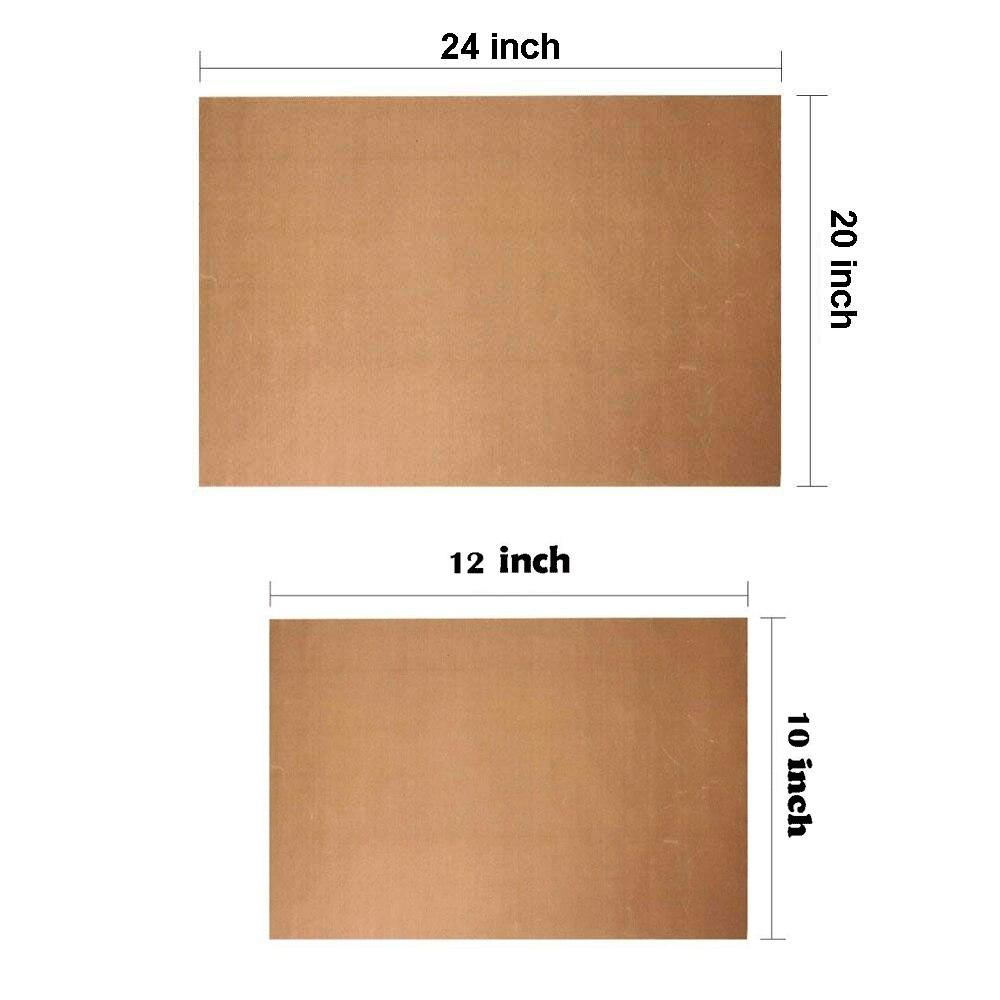 Teflon sheets 0 13mm heat press mat heat transfer vinyl iron on HTV for tshirt resistant high temperature teflon mat non sticker in Decorative Films from Home Garden