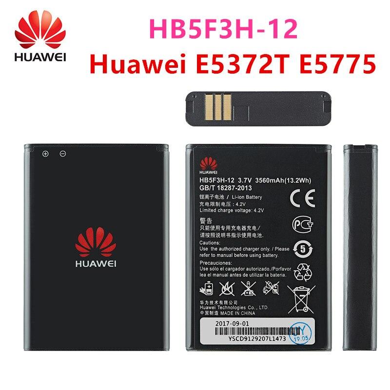 100% Orginal HB5F3H/HB5F3H-12 3560mAh Battery For Huawei E5372T E5775 4G LTE FDD Cat 4 WIFI Router