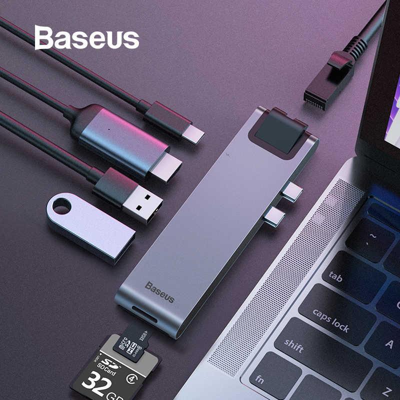 Baseus USB C HUB to HDMI USB 3 0 USB HUB for iPad Pro Card