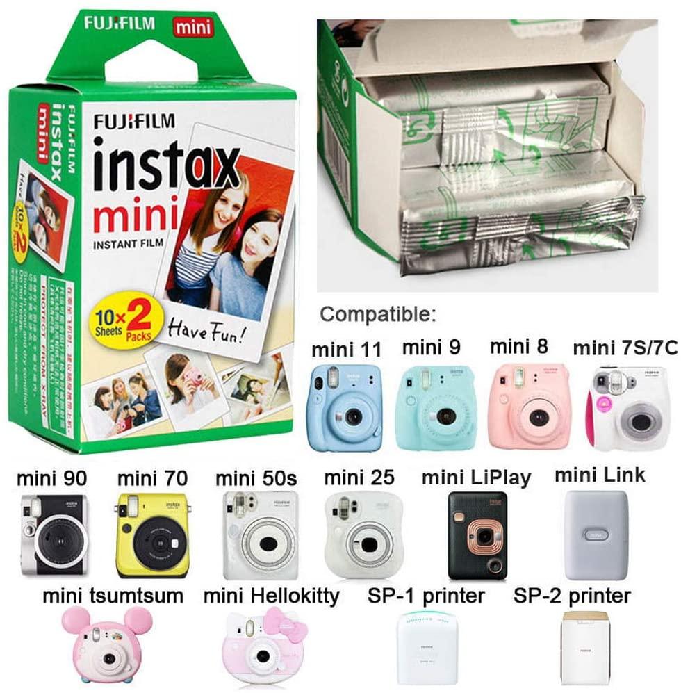 AONKE Viaggiare Conservazione Il Trasporto Scatola Borsa per Fujifilm Instax Mini LiPlay Elegant Black Fotocamera Ibrida Istantanea