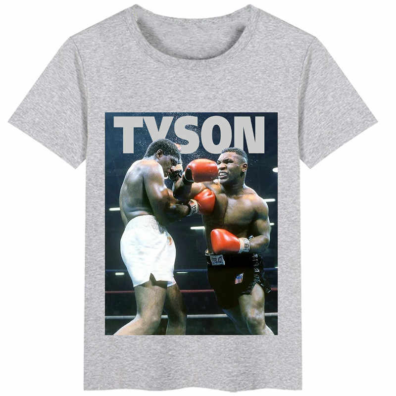 Campeón de boxeo Mike Tyson Memorial camiseta para hacer boxeo cartel reimpresión hombre y mujer Camisetas