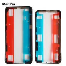 Original Screen Bezel Frame for iPhone 11Pro XS MAX X LCD Touch Display Middle Frame Housings Adhesive Mobile Phone Repair Parts