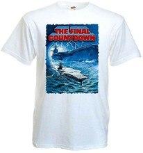 A contagem regressiva final v6 k. Camiseta douglas m. sheen branco todos os tamanhos s... 5xl