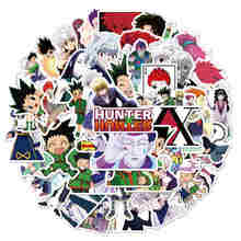 10/50Pcs Anime Hunter X Hunter Stickers Laptop Guitar Luggage Skateboard Stationery Cartoon Cool Waterproof Sticker Kid Toy Gift