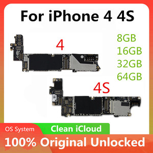Image 2 - Motherboard For iPhone 4 4S 5 5C 5S 6P 7P 7 Motherboard Unlocked Official Version Logic board With OS System Without Touch ID