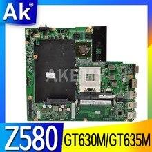 Mainboard Para For Lenovo Z580 Z580 HM76 USB3.0 DALZ3AMB8E0 GT630M/USB3.0 GT635M laptop motherboard trabalho de Teste 100% original
