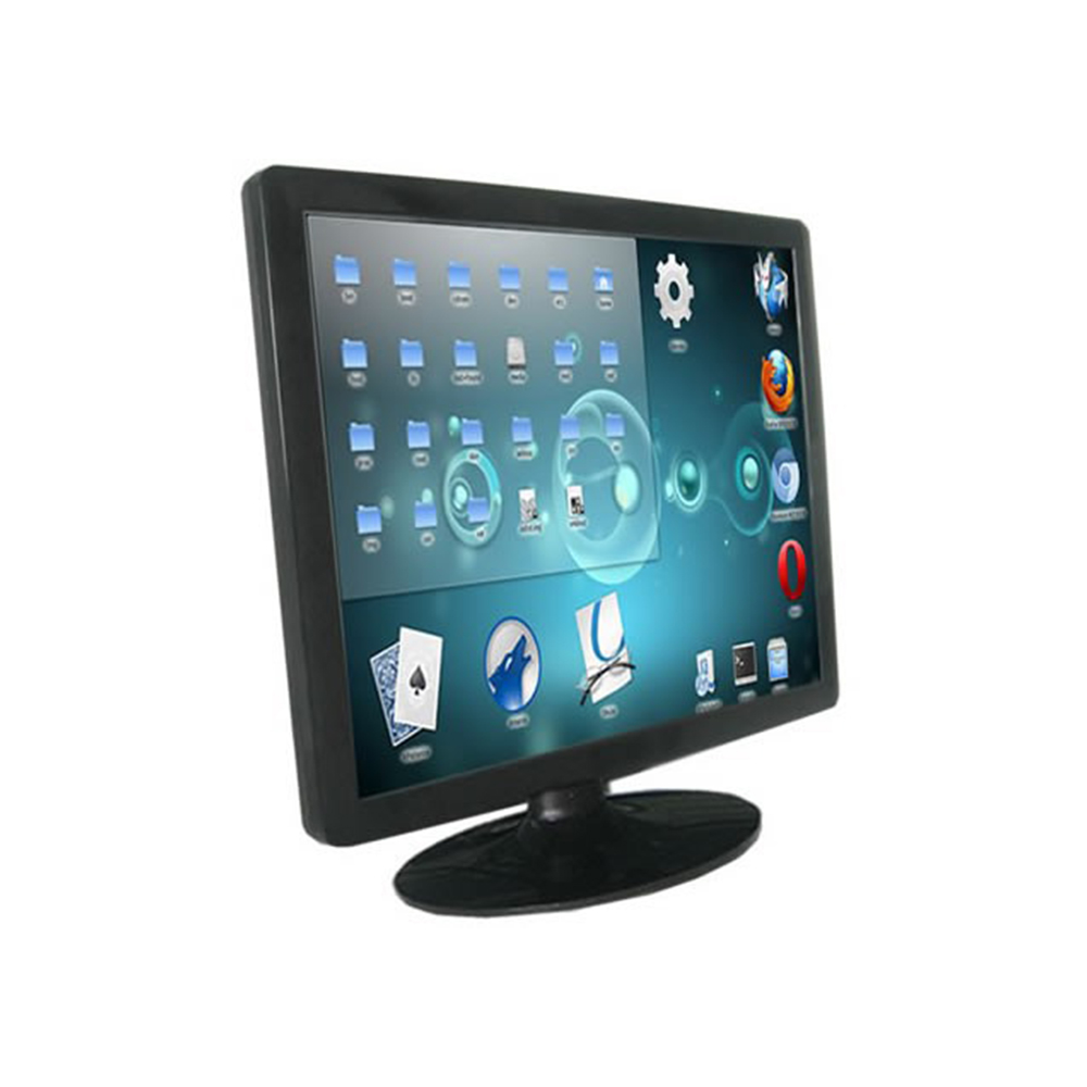 19 polegada 10 fio de desktop monitor touch screen capacitiva TFT LCD touch monitor de pc HDMI monitores LCD POS display - 5