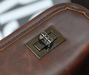 Image 3 - Bolsa masculina de couro pu, bolsa executiva casual masculina de alta qualidade feita em couro sintético de poliuretano com fecho