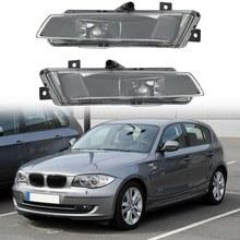 2 uds parachoques del coche conducción de la niebla de la lámpara de la luz de-BMW serie 1 E87 E81 Hatchback 2004-2011, 63177181288, 63177181287