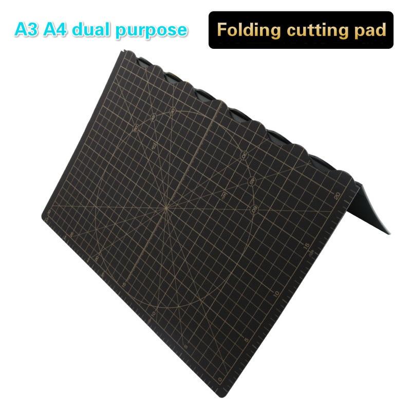 A3 Change A4 Cutting Pad Portable Folding Pvc Cutting Pad Cutting Board Pad Cutting Manual Engraving Cutting Board Self-healing