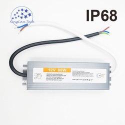 Водонепроницаемый светодиодный драйвер, IP68, 12 В, 50 Вт, 60 Вт, 80 Вт, 100 Вт, 150 Вт, 110 Вт, 250-В переменного тока в 12 В постоянного тока, трансформатор п...