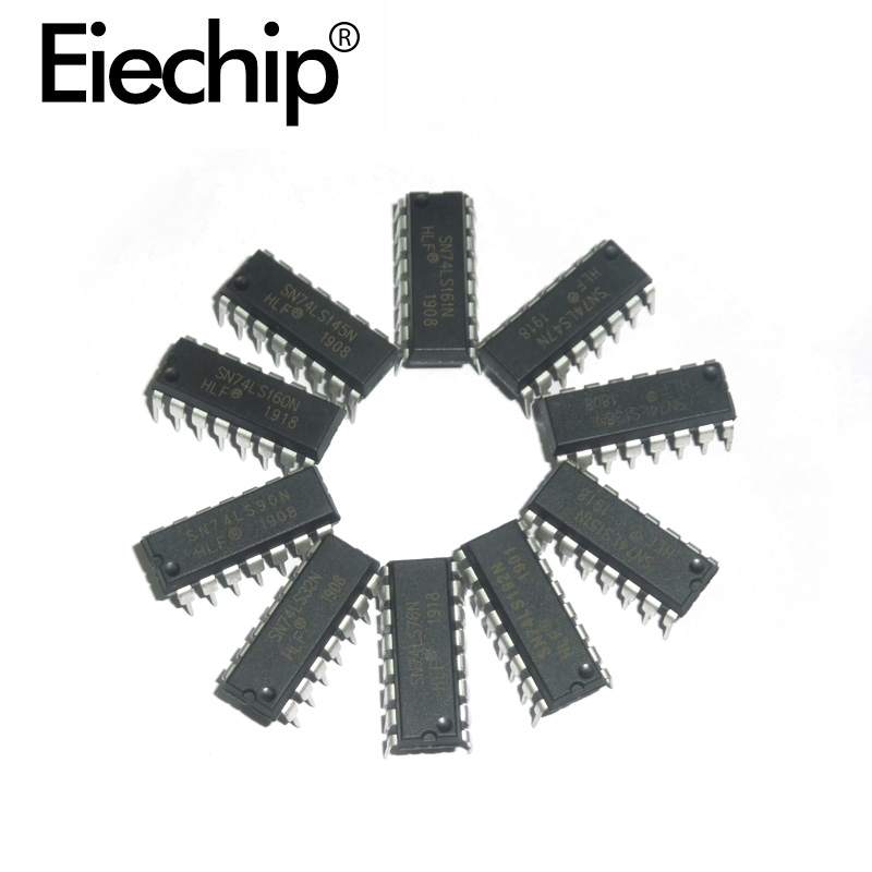 DIY Assortment Kit Logic IC Integrated Circuit 74LS Series 74HC Series CD Series DIP Package Register Chip Driver IC