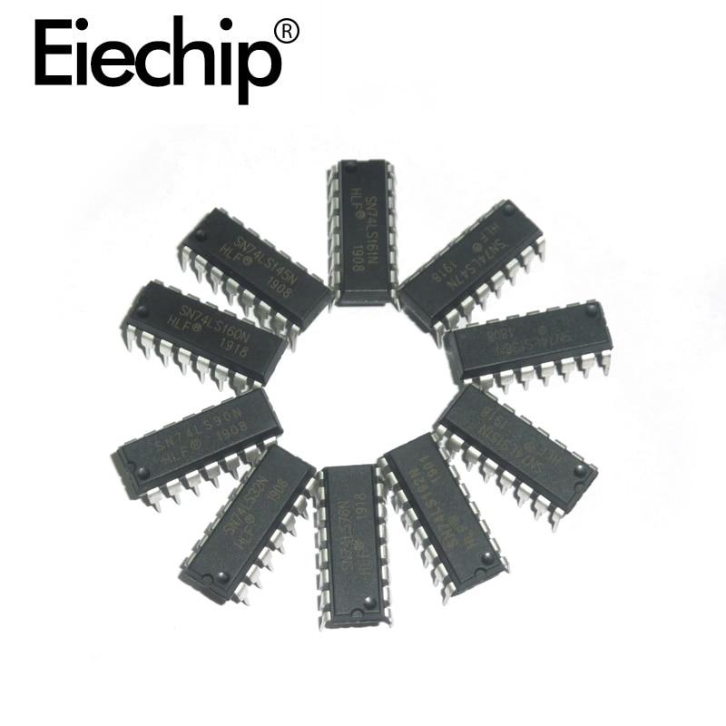 DIY Assortment Kit Logic IC Integrated Circuit 74LS Series 74HC Series CD Series DIP Package Register Chip Driver IC