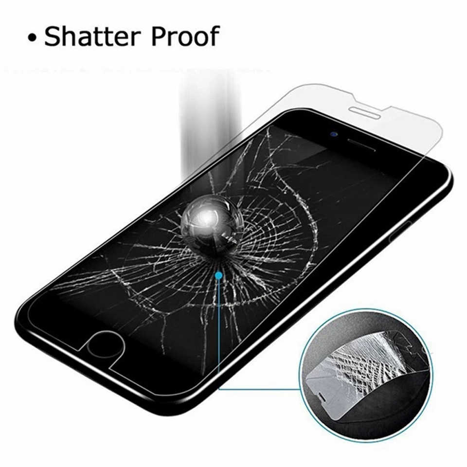 2pcs Tempered glass screen protector for Huawei Y9 Y7 Y6 Y5 Y3 Prime Pro Lite 2017 2018 anti shock guard film