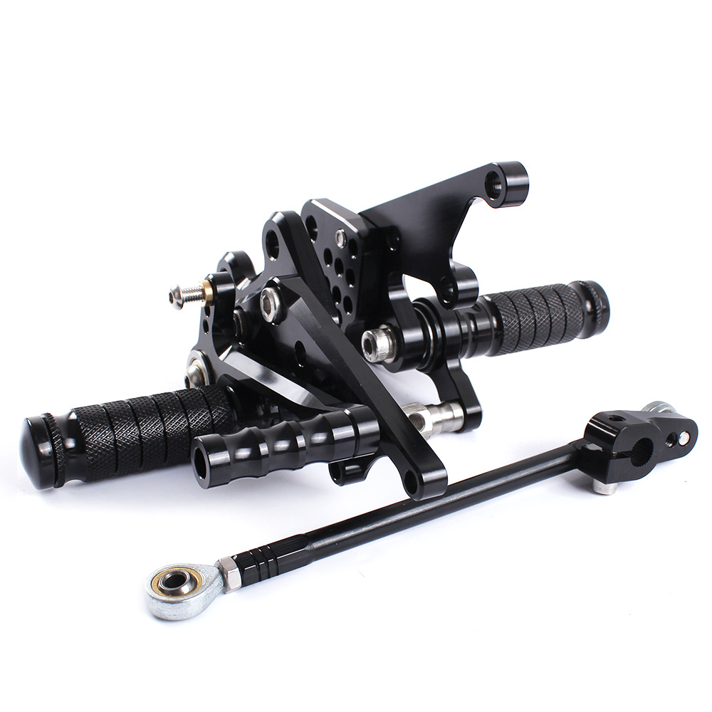 For Kawasaki Ninja ZX14R ZZR1400 ZX 14R 2012-2016 CNC Motorcycle Adjustable Rearsets Rear Sets Foot Pegs Pedal Foot Rests