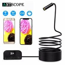 Antscope automatyczne ustawianie ostrości kamera WIFI endoskop 1944P HD 5.0 megapiksela Mini kamera inspekcyjna wodoodporna dla IOS/Android boroskop 24