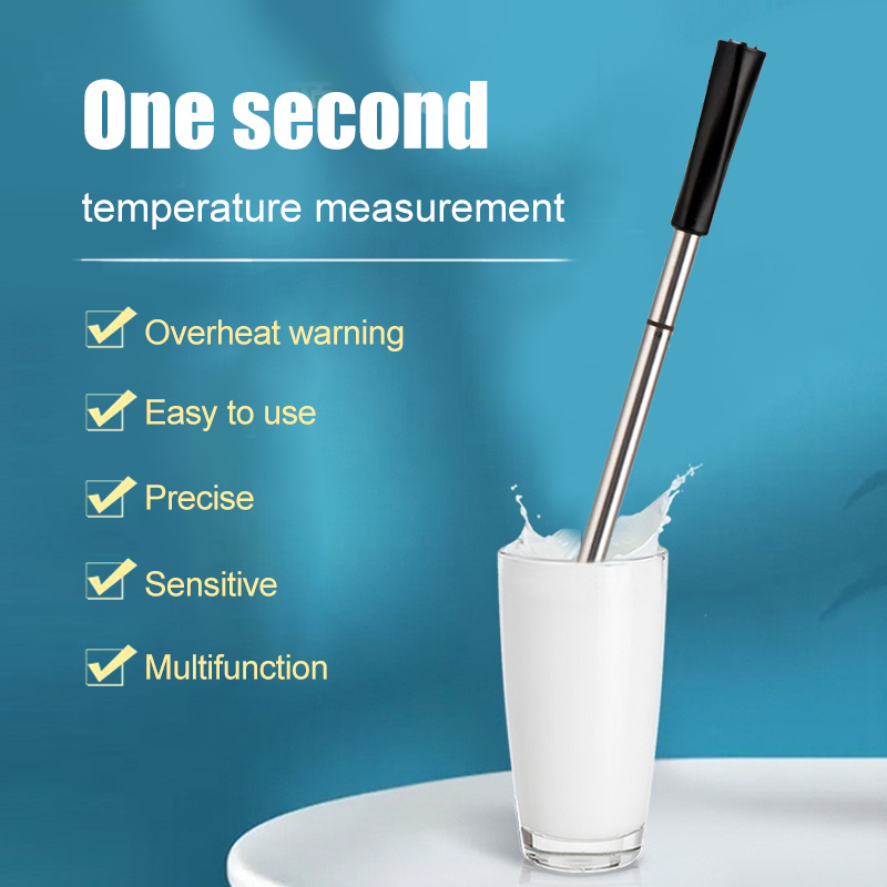 Digital Food Thermometer Barbecue Bluetooth Wireless Thermometer Meat Candy Fry Dinning Household Thermometers Kitchen Tools