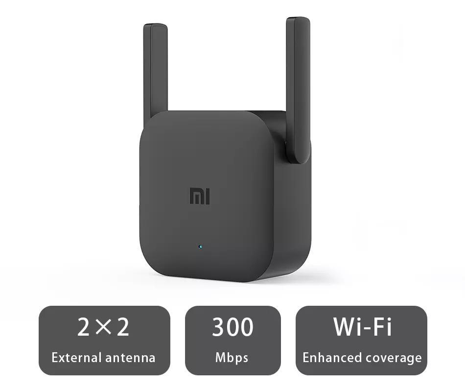 Original Xiaomi Mi WiFi Repeater Pro 300M Amplifier Network Expander Router Extender Roteador 2 Antenna 2