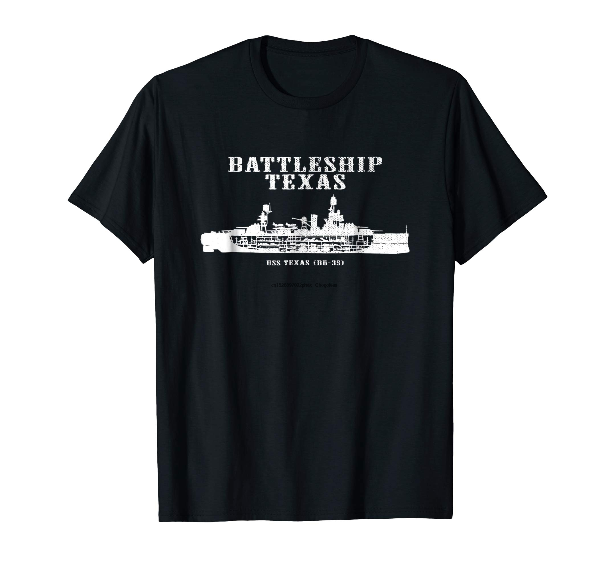 Battleship Texas Uss Texas (bb-35) мужская футболка в состаренном стиле