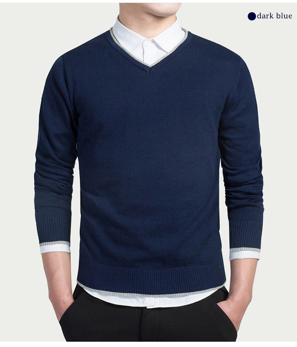 pullovers camisolas com decote em v topos