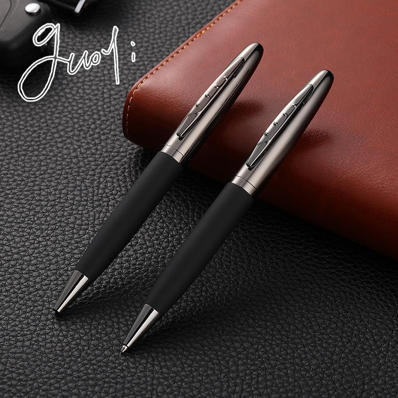 Guoyi Ballpoint-Pen Gift Pen Metal-Shell School-Stationery Business Office Creative Luxury