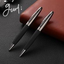 Guoyi C015 креативный кожаный металлический корпус Шариковая ручка офисная для школы канцелярский подарок; ручка для гостиницы и бизнеса