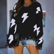 Tassel Oversized Sweaters 2020 Knitwear Tops Women Knitted Sweater Fashion Ripped Long Sleeve Pullovers Ladies Tricot Pull Femme