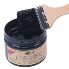 250g Black Paint,Environmentally Friendly Water-based Watercolor Paint,Furniture,Wooden Doors,Canvas,Hand-painted Craft Paints