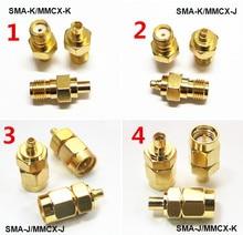 Hot-selling SMA/MMCX-KK-KJ-JJ from male to female SMA MMCX RF adapter