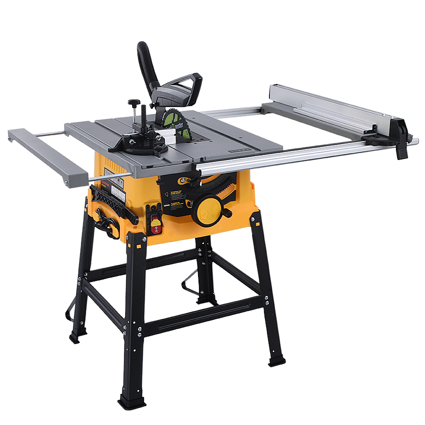 10 Inch Woodworking Table Saw Wood Carving Cutting Machine Circular Blade Working Power Tools Panel Dust-free Machine For Sawing