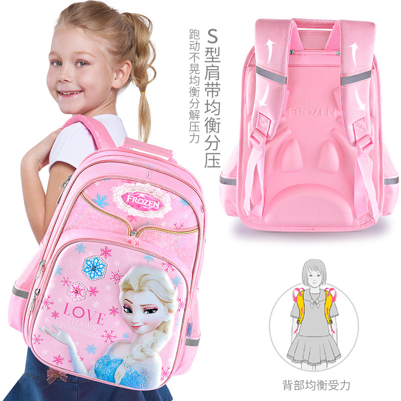 Personalised Kids Backpack Any Name Frozen Girl Childrens Back To School Bag