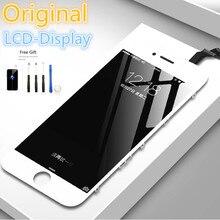 Ban Đầu Hiển Thị Tốt Tân Trang Màn Hình LCD Cho iPhone 6 6S 7 Plus 5 5S SE Đen Trắng Hình Cảm Ứng thay Thế Với Dụng Cụ