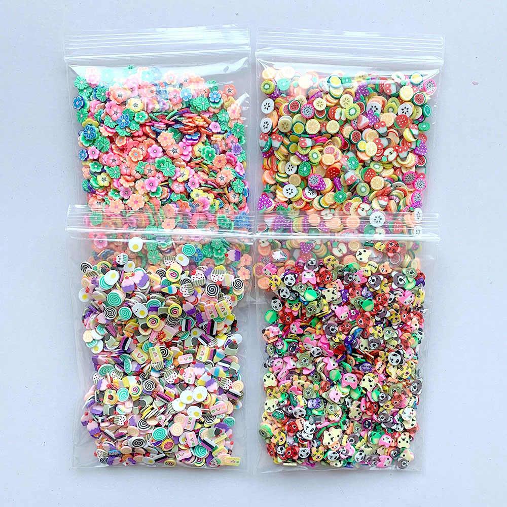 32Pcs/Set DIY Slime Kit Clay Decoration Craft Sponge Strip Foam Beads Kids Toys Christmas Gifts Slime Filler Accessories