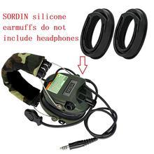 MSA SORDIN silicone earmuffs for MSA/SORDIN/IPSC/TCI LIBERATOR II noise reduction shooting headphones