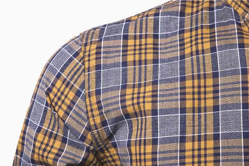 جديد ربيع 2020 قميص قطن 100% للرجال بأكمام طويلة منقوش قميص اجتماعي للرجال مقاس ضيق قمصان عالية الجودة للأعمال الاجتماعية