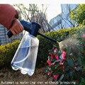 Piso boot rega pode para flores pulverizador elétrico jardim rega pode pressão pulverizador spray garrafa jato de alta pressão garrafa