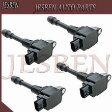 4PCS 22448 JA00C High Quality Ignition Coil for Nissan Altima SUNNY Rogue Sentra Versa Infiniti 2007 2015 AIC 2408N 22448 JA10C