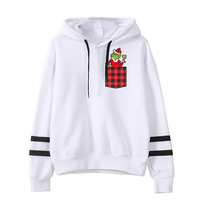 Grinch Christmas Sweatshirt Women Print Sweatshirts Streetwear 2019 Festival Clothing Harajuku Hoodie Casual Clothes