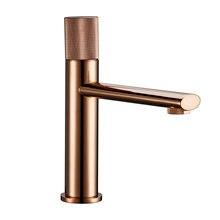Смеситель для ванной комнаты smesiteli цвета розового золота