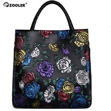 ZOOLER BRAND genuine leather bag top handle women bags handbags famous brand designed 0-profit for VIP #2651