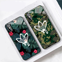 Adidas Nike Sports Brand Phone Cases for iPhone 6 7 8 Plus X XR XS Max